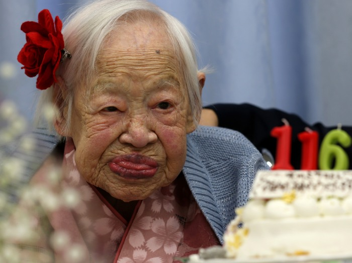 World's Oldest Japanese Woman Turns 116